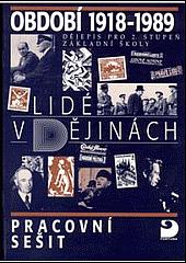 Období 1918-1945 - pracovní sešit obálka knihy