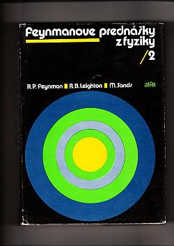 Feynmanove prednášky z fyziky - 2 obálka knihy