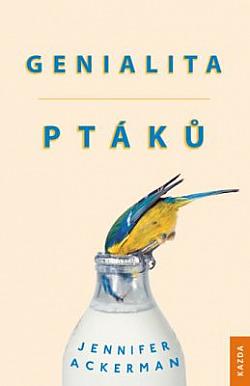 Genialita ptáků obálka knihy