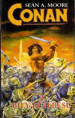Conan a Bílý bůh běsů obálka knihy
