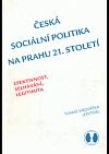 Česká sociální politika na prahu 21. století