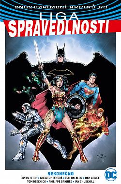 Liga spravedlnosti 4: Nekonečno (limitovaná edice) obálka knihy