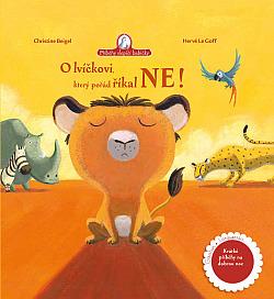 O lvíčkovi, který pořád říkal ne obálka knihy