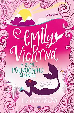 Emily Vichrná a země půlnočního slunce obálka knihy