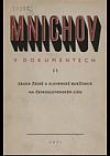 Mnichov v dokumentech II., Zrada české a slovenské buržoasie na českolovenském lidu