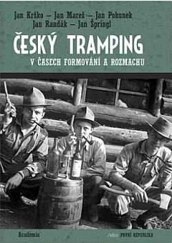 Český tramping v časech formování a rozmachu obálka knihy