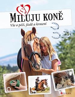 Miluju koně obálka knihy