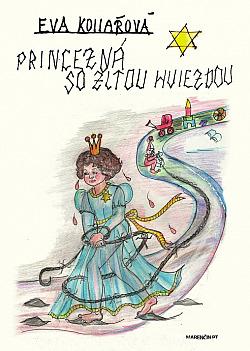 Princezná so žltou hviezdou obálka knihy
