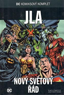 JLA: Nový světový řád obálka knihy