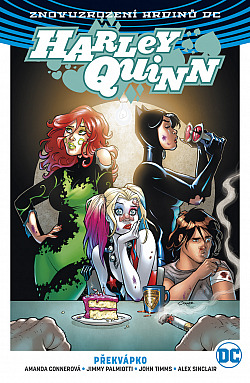 Harley Quinn 4: Překvápko obálka knihy
