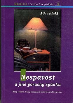 Nespavost a jiné poruchy spánku obálka knihy