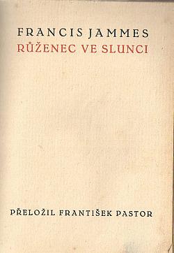 Růženec ve slunci obálka knihy