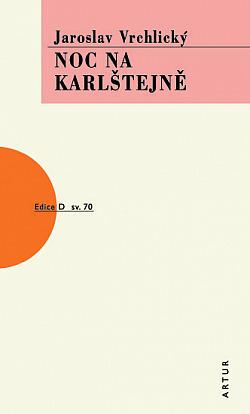 Noc na Karlštejně obálka knihy