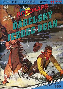 Ďábelský jezdec Dean obálka knihy