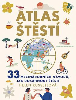 Atlas štěstí obálka knihy