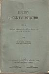 Dějiny řečnictví řeckého I.