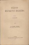Dějiny řečnictví řeckého II.