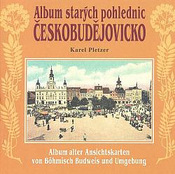 Českobudějovicko - Album starých pohlednic obálka knihy