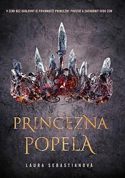 Princezna popela obálka knihy