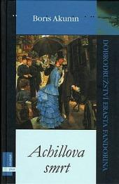 Achillova smrt obálka knihy