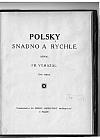 Polsky snadno a rychle