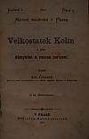 Velkostatek Kolín a jeho důmyslné a vzorné zařízení