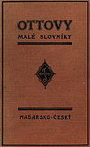 Příruční slovník maďarsko - český  |  Magyar - cseh kézi szótár