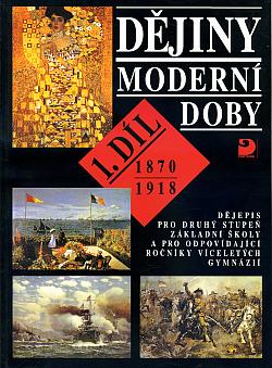 Dějiny moderní doby (1. díl) obálka knihy