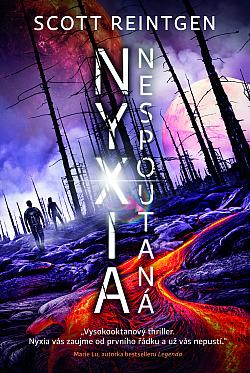 Nyxia nespoutaná obálka knihy