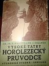 Vysoké Tatry - Horolezecký průvodce IV. díl