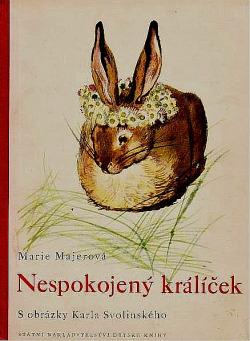 Nespokojený králíček obálka knihy