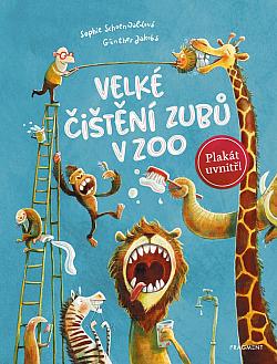 Velké čištění zubů v ZOO obálka knihy