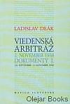Viedenská arbitráž: 2. november 1938: Dokumenty I.