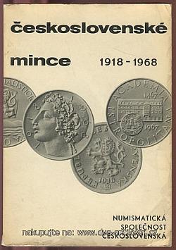 Československé mince 1918-1968 obálka knihy