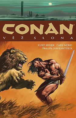 Conan: Věž slona obálka knihy