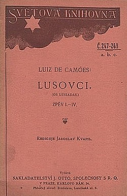 Lusovci: báseň o desíti zpěvech obálka knihy