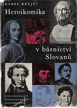 Heroikomika v básnictví Slovanů obálka knihy