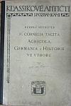 P. Cornelia Tacita Agricola, Germania a Historie ve výboru