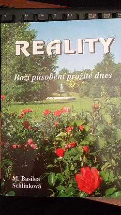 Reality Boží působení dnes obálka knihy