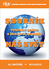 Sborník vybrané práce z literární soutěže Náš svět 2014/2015