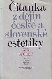 Čítanka z dějin české a slovenské estetiky XIX. století obálka knihy