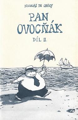 Pan Ovocňák II. obálka knihy