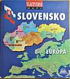 Vlastivedné mapy - Slovensko - Európa