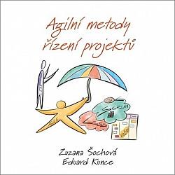 Agilní metody řízení projektů obálka knihy