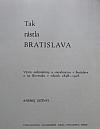 Tak rástla Bratislava