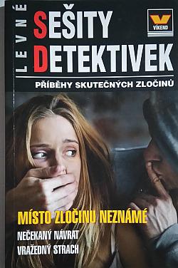 Místo zločinu neznámé obálka knihy