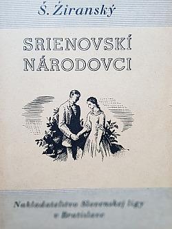 Srienovskí národovci obálka knihy