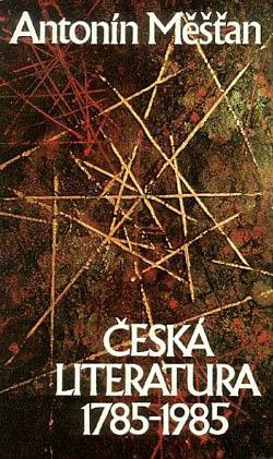 Česká literatura 1785–1985 obálka knihy