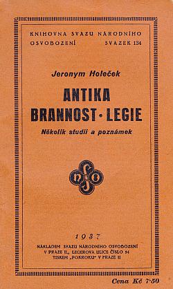 Antika - brannost - legie: několik studií a poznámek