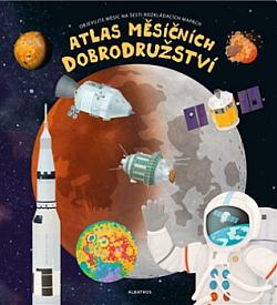 Atlas měsíčních dobrodružství obálka knihy